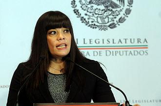 Lilia Aguilar Gil - Image: Dip. Lilia Aguilar Gil