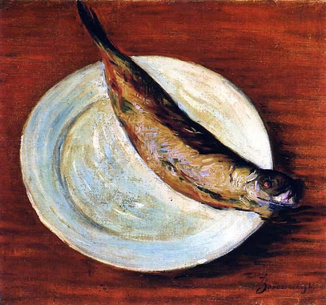 File:Dish with Fish Federico Zandomeneghi.jpg