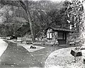 Display at Temple of Sinawava - Gateway to the Narrows Trailhead. ; ZION Museum and Archives Image 007 01 050 ; ZION 8807 (ad9ca340a5ad41449eb723a686082484).jpg