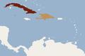 Distribution of Phyllops falcatum.png