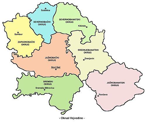 Upravni Okruzi Srbije Wikiwand