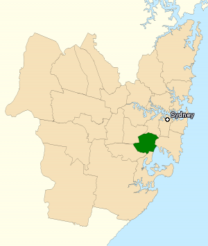 Division of Barton - Division of Barton in New South Wales, as of the 2016 federal election.