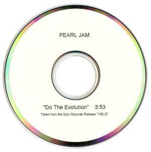 Do the Evolution - Image: Do the Evolution by Pearl Jam US promo stand alone CD