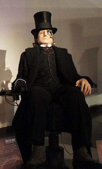 Deep Breath (Doctor Who) - The Half-Faced Man, as shown at the Doctor Who Experience