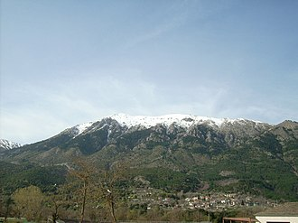 Dodoni - View of Dodoni and mount Tomaros