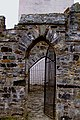 Doe Castle - Entrance gates - geograph.org.uk - 1185013.jpg