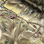 Dombrowka bei Sanok, Josephinische Landesaufnahme (1769-1787).jpg