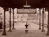 Der Bahnhof von Domodossola