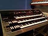 Don Lewis' LEO (Live Electronic Orchestra) synthesizer organ, Museum of Making Music.jpg