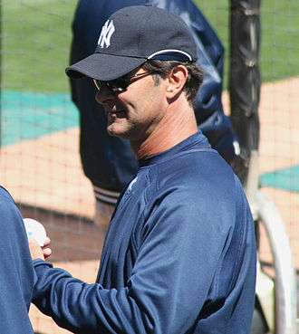 Don Mattingly - Mattingly as hitting coach with the New York Yankees
