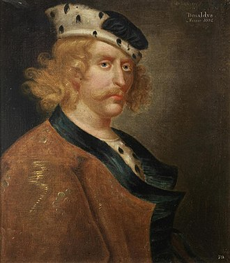 Donald III of Scotland - Image: Donald III of Scotland 16th 17th Century