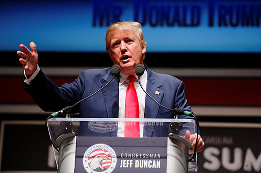 Donald Trump Sr. at Citizens United Freedom Summit in Greenville South Carolina May 2015 by Michael Vadon 13