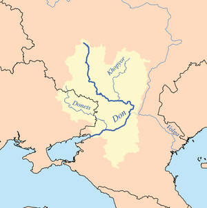 Khopyor River - Don and Khopyor rivers.