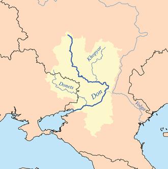 Khopyor River - Don and Khopyor rivers.