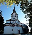 Doppelkirche St. Maria und Clemens, Vertikalpanorama.jpg