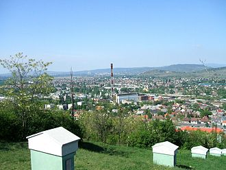 Dorog - North of Dorog with the power plant