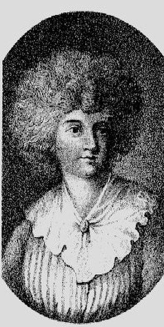 Dorothea von Rodde-Schlözer - Dorothea Schlözer c1790