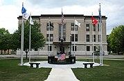 Douglas County Illinois Courthouse Monument
