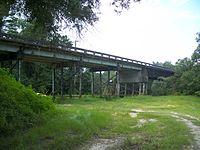 Dowling Park FL CR 250 bridge west under01.jpg