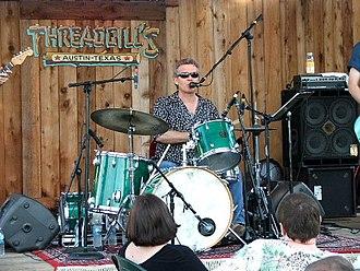 Doyle Bramhall - Bramhall performing at Threadgill's in Austin, TX