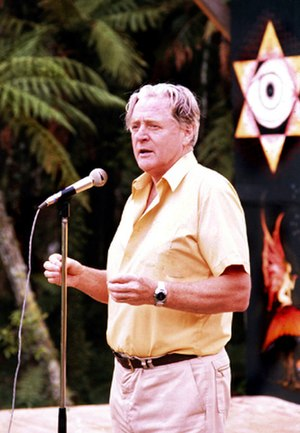 Jim Cairns - Cairns at Nambassa in 1981