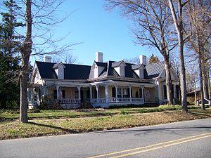 Dr. Victor McBrayer House - Image: Dr. Victor Mc Brayer House Shelby, NC