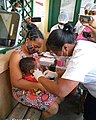 Dr LAMIREE MARTIN Sandrine children's vaccination season 2020 at CSB 2 Tanambao Verrerie Toamasina Madagascar.jpg