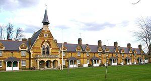 Bruce Grove - Drapers' Almshouses, Bruce Grove