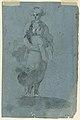 Drawing, Sketches A) Sibyl (.); B) St. John preaching, 1780 (CH 18118263).jpg