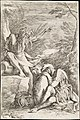Dream of Aeneas- Aeneas rests his head on his hands atop his shield, while the river god Tiber leans on a vessel and points upward with his left hand MET DT228195.jpg
