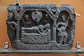 Dream of Mayadevi - Schist - ca 2nd Century CE - Mardan - ACCN 3697-A23248 - Indian Museum - Kolkata 2016-03-06 1470.JPG