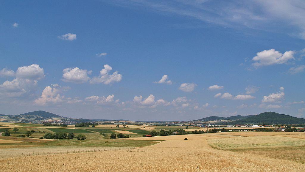 UNESCO-Bioshärenreservat Rhön bei Dreistelz und Mettermich 8landkeis Bad Kissingen)