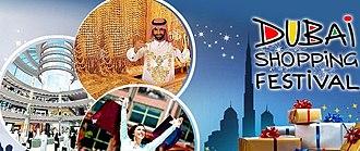 Dubai Shopping Festival - Banner for the Dubai Shopping Festival