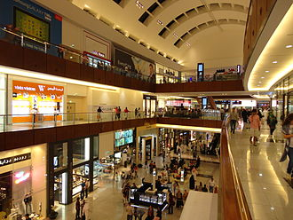 The Dubai Mall - The shopping mall's interior