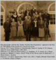 Dudley teachers, 1940.png