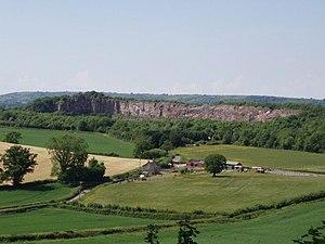 Quarries of the Mendip Hills - Dulcote Quarry.