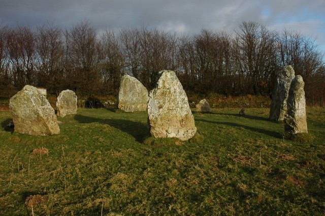 Duloe Stone Circle - geograph.org.uk - 1242170