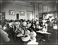 Dulwich Hill Public School - hat making demonstration Mother's Day 1913 (15528757206).jpg