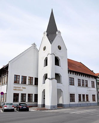 Dunajská Streda - Image: Dunajská Streda 1