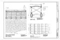 Dunlap's Creek Bridge, Spanning Dunlap's Creek, Brownsville, Fayette County, PA HAER PA,26-BROVI,2- (sheet 2 of 3).png