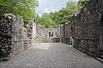 The ruins of Dunstaffnage chapel, near Dunstaffnage castle.