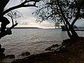 Dusk on the Coast at Luganville (23085756493).jpg