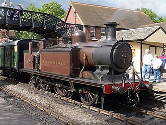 The Railway Children (2000 film) - 473 'Birch Grove' wearing the same livery it carried in the film.