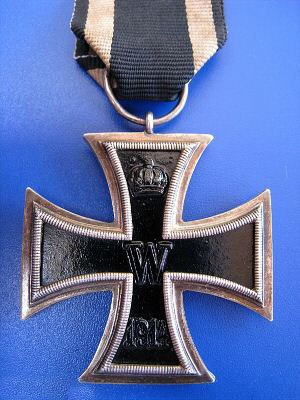 Cross pattée - German Iron Cross, 2nd Cl., World War I