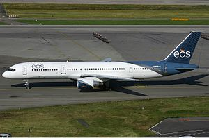 Eos Airlines - Eos Airlines Boeing 757-200, Zurich, 2006