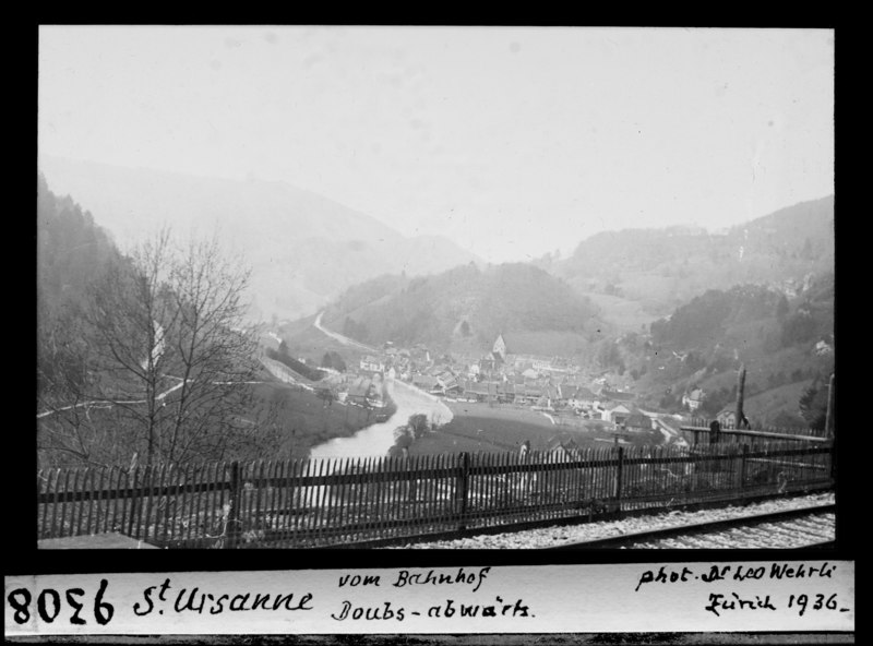 File:ETH-BIB-St. Ursanne, vom Bahnhof, Doubs abwärts-Dia 247-09308.tif