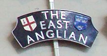 East Anglian headboard at NRM York - DSC07770.JPG
