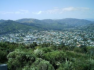 Karori Suburb in Wellington City, New Zealand