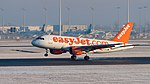 EasyJet Airline Airbus A319-111 G-EZAJ MUC 2015 01.jpg
