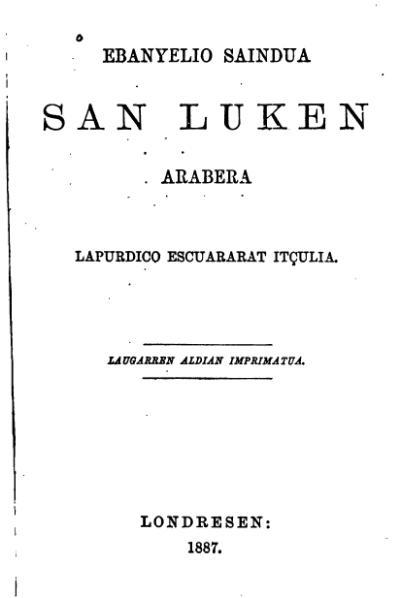 File:Ebanyelio saindua San Luken arabera (1887).djvu